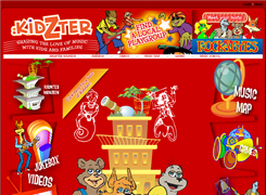 Website preview thumbnail for : Kidzter