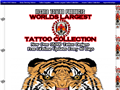 Website preview thumbnail for : Largest Tattoo Collection
