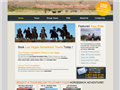 Website preview thumbnail for : Vegas Horseback Riding