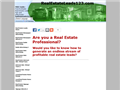 Website preview thumbnail for : Real Estate Leads