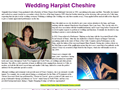 Website preview thumbnail for : Cheshire Wedding Harpist
