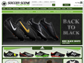Website preview thumbnail for : Soccer Scene