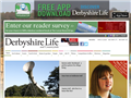 Website preview thumbnail for : Derbyshire Life