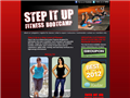 Website preview thumbnail for : Step It Up Fitness