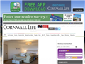 Website preview thumbnail for : Cornwall Life