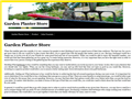Website preview thumbnail for : Garden Planter Store