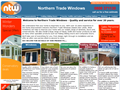Website preview thumbnail for : Northern Trade Windows