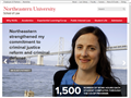Website preview thumbnail for : Northeastern University Law