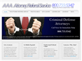 Website preview thumbnail for : Attorney Referral Services