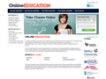 Website preview thumbnail for : Online Education