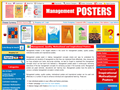 Website preview thumbnail for : Management Posters