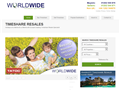 Website preview thumbnail for : Worldwide Timeshare