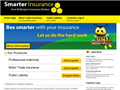 Website preview thumbnail for : Smarter Insurance