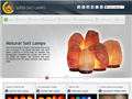Website preview thumbnail for : Super Salt Lamps