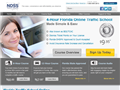 Website preview thumbnail for : Online Traffic School Florida
