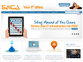 Website preview thumbnail for : SACA Technologies
