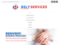 Website preview thumbnail for : Rely Services Medical Transcription