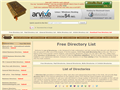 Website preview thumbnail for : List Of Directories