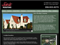 Website preview thumbnail for : Jorve Roofing