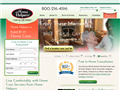 Website preview thumbnail for : Home Helpers Senior Care