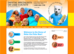 Website preview thumbnail for : Dental Specialists