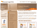 Website preview thumbnail for : Discount Cigarettes Mall