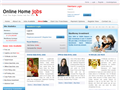 Website preview thumbnail for : Online Home Jobs
