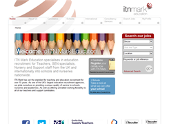 Website preview thumbnail for : ITN Mark Education