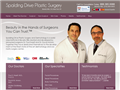 Website preview thumbnail for : Spalding Plastic Surgery