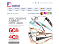 Website preview thumbnail for : JC Penney Optical