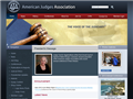 Website preview thumbnail for : American Judges Association