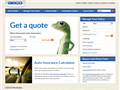 Website preview thumbnail for : Geico