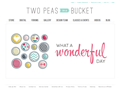 Website preview thumbnail for : Two Peas In A Bucket