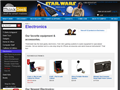 Website preview thumbnail for : ThinkGeek