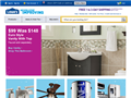 Website preview thumbnail for : Lowe's
