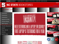 Website preview thumbnail for : NC State Bookstores