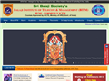 Website preview thumbnail for : Sri Balaji Society