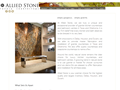 Website preview thumbnail for : Allied Stone