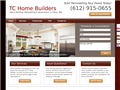 Website preview thumbnail for : TC Home Builders