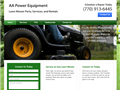Website preview thumbnail for : AA Power Equipment
