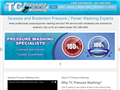 Website preview thumbnail for : TC Pressure Washing Pros