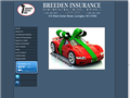 Website preview thumbnail for : Breeden Insurance Service