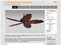 Website preview thumbnail for : Ceiling Fan Models