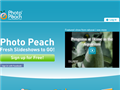 Website preview thumbnail for : PhotoPeach