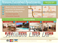 Website preview thumbnail for : Arizona Furnished Apartments