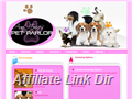 Website preview thumbnail for : Aunt Ernie's Pet Parlor