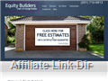 Website preview thumbnail for : Equity Builders LLC