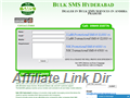 Website preview thumbnail for : Bulk SMS Hyderabad
