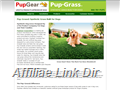 Website preview thumbnail for : PupGrass By PupGear Corporation