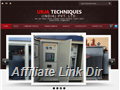 Website preview thumbnail for : Urja Techniques (India)